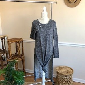 Free People Heathered Side Split Tunic XS
